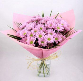 envio de ramo margaritas rosas