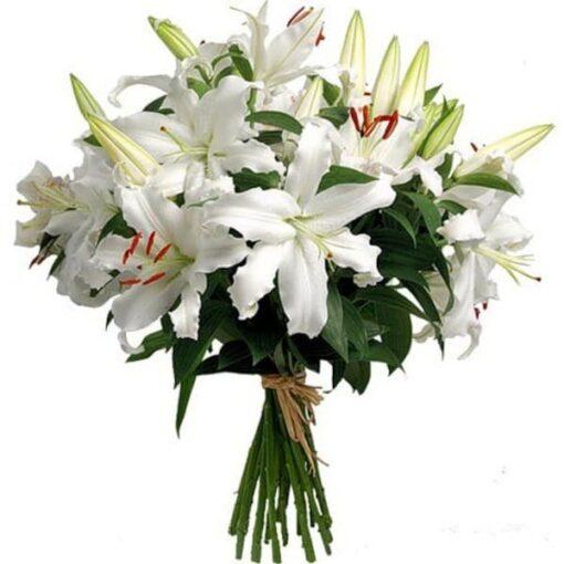 telefloristeria lilium blanco